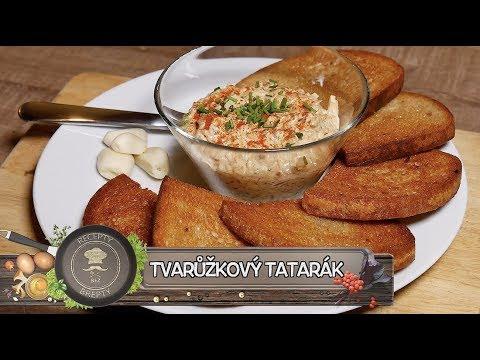 Tvarůžkový tatarák