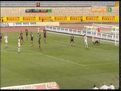 AEK Larnaca - FK Mlada Boleslav 3-0 all goals