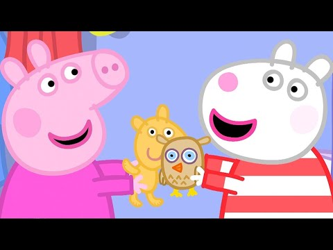 Peppa Pig English Episodes | Peppa Pig's Sleepover | Peppa Pig Official