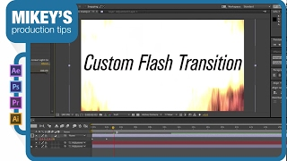 Customizable Flash transition: After Effects Tutorial