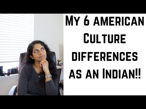 My 6 American Culture differences as an Indian!!
