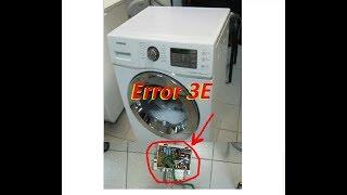 Стиральная машина Samsung eco bubble  WF702W2BBWQ ошибка 3E