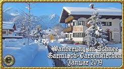 Schneemassen in Garmisch-Partenkirchen, Januar 2019.