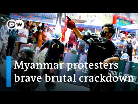 Myanmar: Several shot dead as protests escalate against military junta | DW News