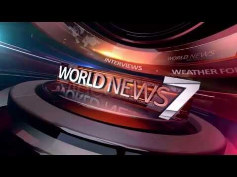 World News Broadcast Package & Dramatic News