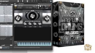 new teflon drums reloaded kontakt library sound demo by thebeathousekits com