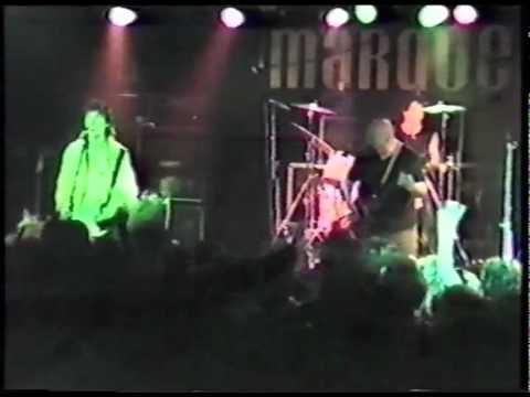 Bernie Torme and John McCoy at the Marquee Club London 1984:  Bony Maronie