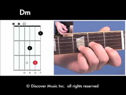 Guitar Chord Open Dm Youtube