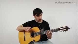 Sting Shape Of My Heart Sting Fingerpicking Fácil clases de guitarra Cómo tocar tutorial Video