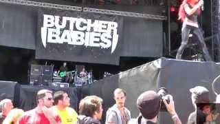 Butcher Babies, FULL CONCERT, HELLFEST 2015, FULL HD, 1080