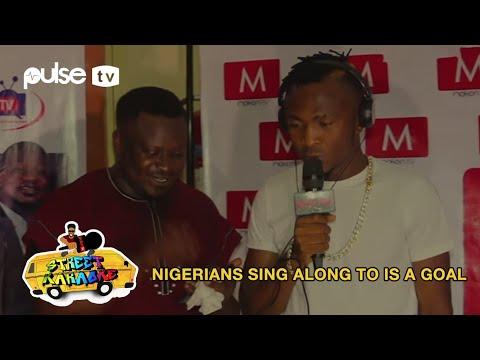 Nigerians Sing To Issa Goal (remix), Ara, Woju, Olufunmi, Jamb Question   Street Karaoke   Pulse TV