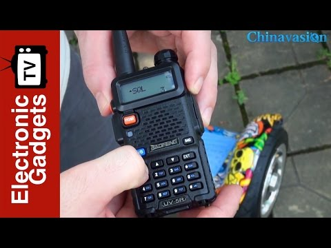 Baofeng UV 5R Walkie Talkie with 5 To 10km Range, FM Radio, Powerful Battery
