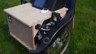 12vdc Solar Utility Cart, Air Compressor, Inverter, Stereo, Water Pump, Etc.