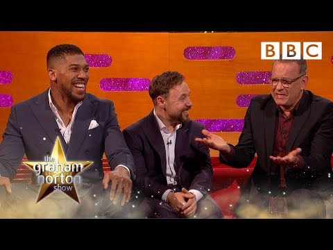 Why Tom Hanks Is Not Anthony Joshua's Manager | The Graham Norton Show - BBC