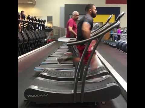 The Fastest Men On Treadmill 40km/h