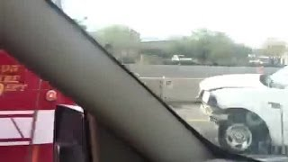 RAW VIDEO: Prince and I-10 crash
