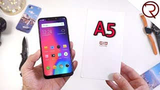 Elephone A5 Unboxing, Hands-On and Sample Pictures - 5 Cameras!