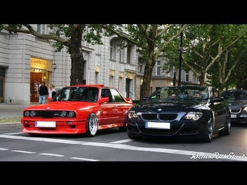 Bmw M6 Vs M3 E30 Launch Control Crazy Sound With