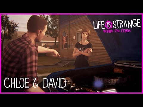 Life is Strange: Before the Storm Gameplay – Chloe & David [PEGI]