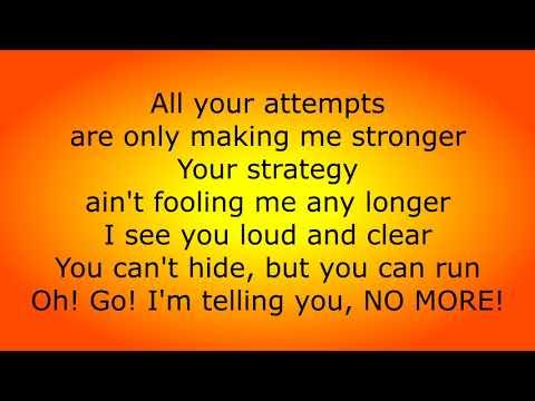Beckah Shae - No More (Lyrics)