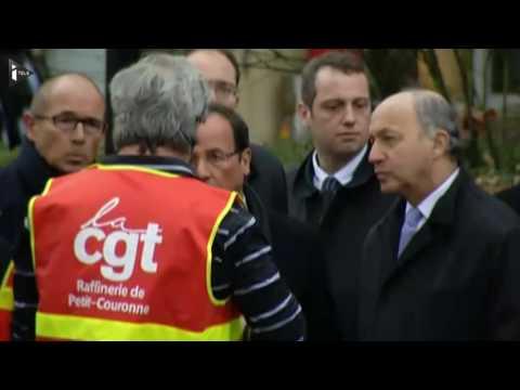 """François Hollande sur la courbe du chômage: """"J'ai eu tort ! Je n'ai pas eu de bol !"""""""