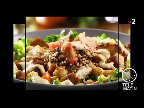 Gourmand - Salade césar vegan