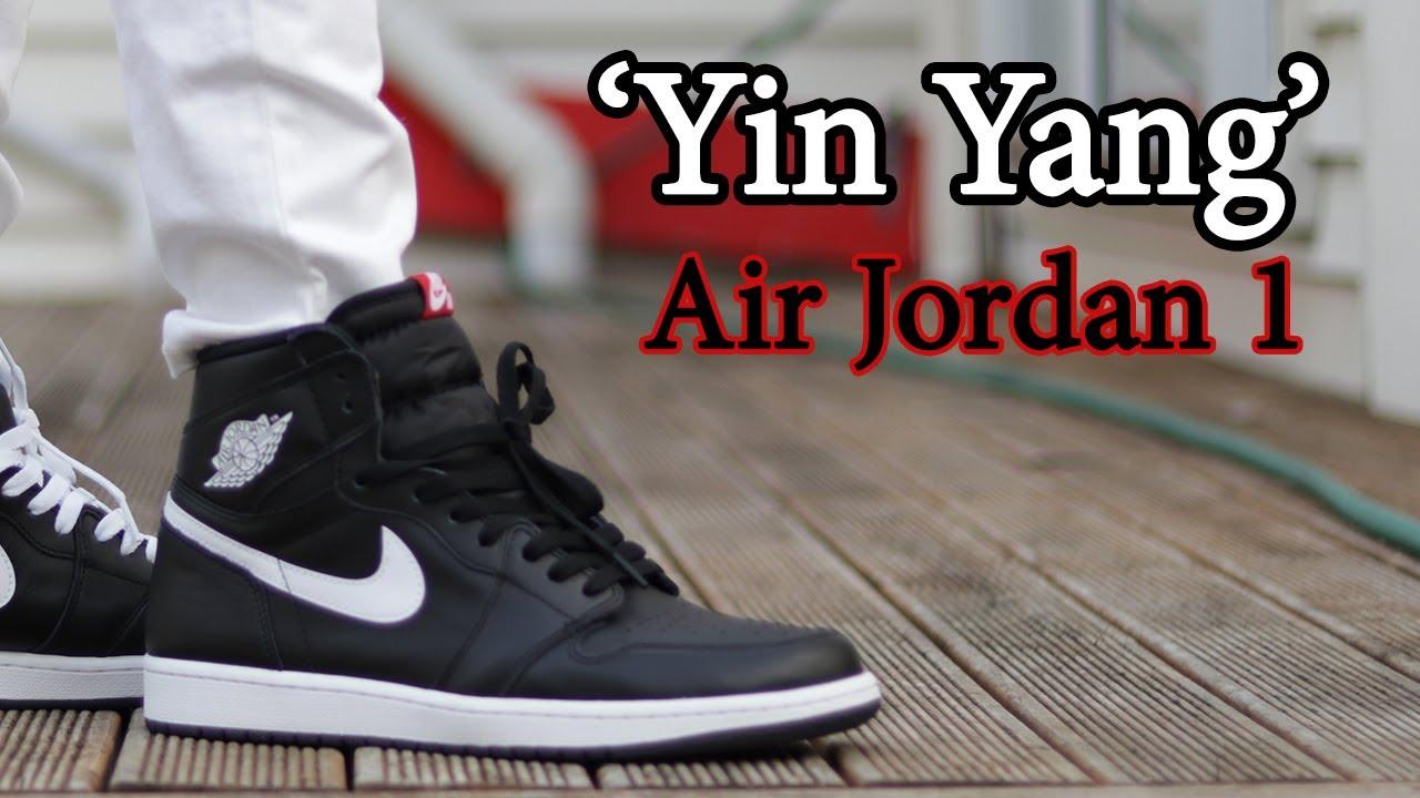 huge discount 5979a 1b51b Air Jordan 1 'Yin Yang' Close Up + On-Feet with different pants ...