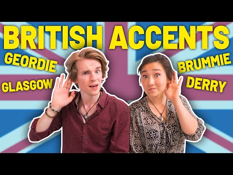 Americans React To British Accents (Hull, Geordie, Stoke, & MORE ) 🇬🇧