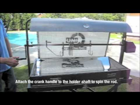 Hot Design Rotisserie Grill in Large format.m4v - YouTube on homemade grills plans, basic designs, homemade beach, homemade incinerator, cooking fire pit designs, homemade smoker, outdoor barbeque designs, homemade bbq pits, bbq trailer designs, patio bbq island designs, barbecue pits designs, homemade backyard grills, backyard fire pit designs, brick barbeque designs, jalapeno designs, old smokehouse designs, bar b que pit designs, homemade cookers grills, diy brick fire pits designs, smokehouse plans & designs,
