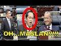 LAWAK!!! Ahmad Maslan CEMBURU Azmin Ali Untuk Menyokong Usul