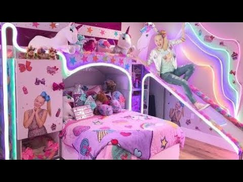 Jojo Siwa My New Bedroom Epic Room Tour Youtube