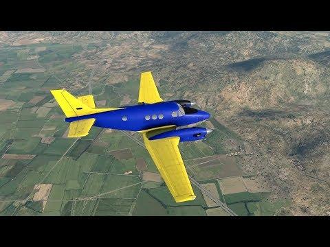 X-Plane 11: #25 von LTCN (Kahramanmaras, Türkei) weiter nach OSAP (Aleppo, Syrien)