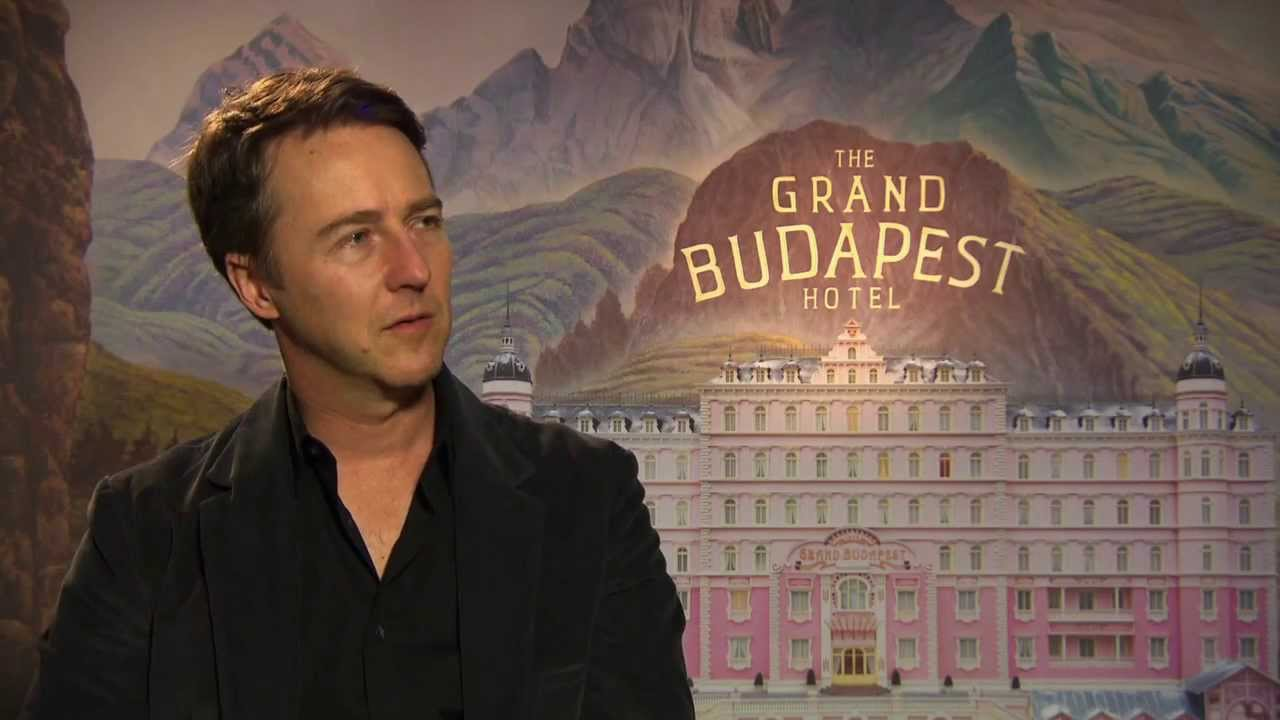 The Grand Budapest Hotel Edward Norton Official Movie Interview Screenslam Youtube