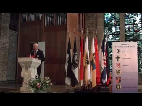 Zweiter Teil der Gedenkstunde zum Tag der Heimat 2014, BdV-Kreisverband Düren
