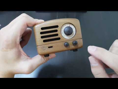 Tiny Radio/Speaker From China: Muzen OTR Wood