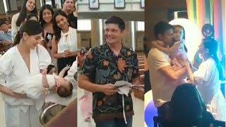 Baby ZIGGY NABINYAGAN na Baby Boy ni Marian Rivera at Dingdong Dantes Baptismal