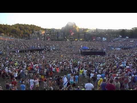 Tomorrowland 2013 David Guetta,Nicky Romero,Afrojack