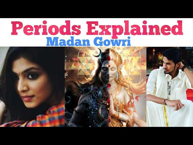 Periods Explained | Tamil | Madan Gowri | MG