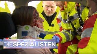 Crash auf der Autobahn, Autobumser? | Auf Streife - Die Spezialisten | SAT.1 TV