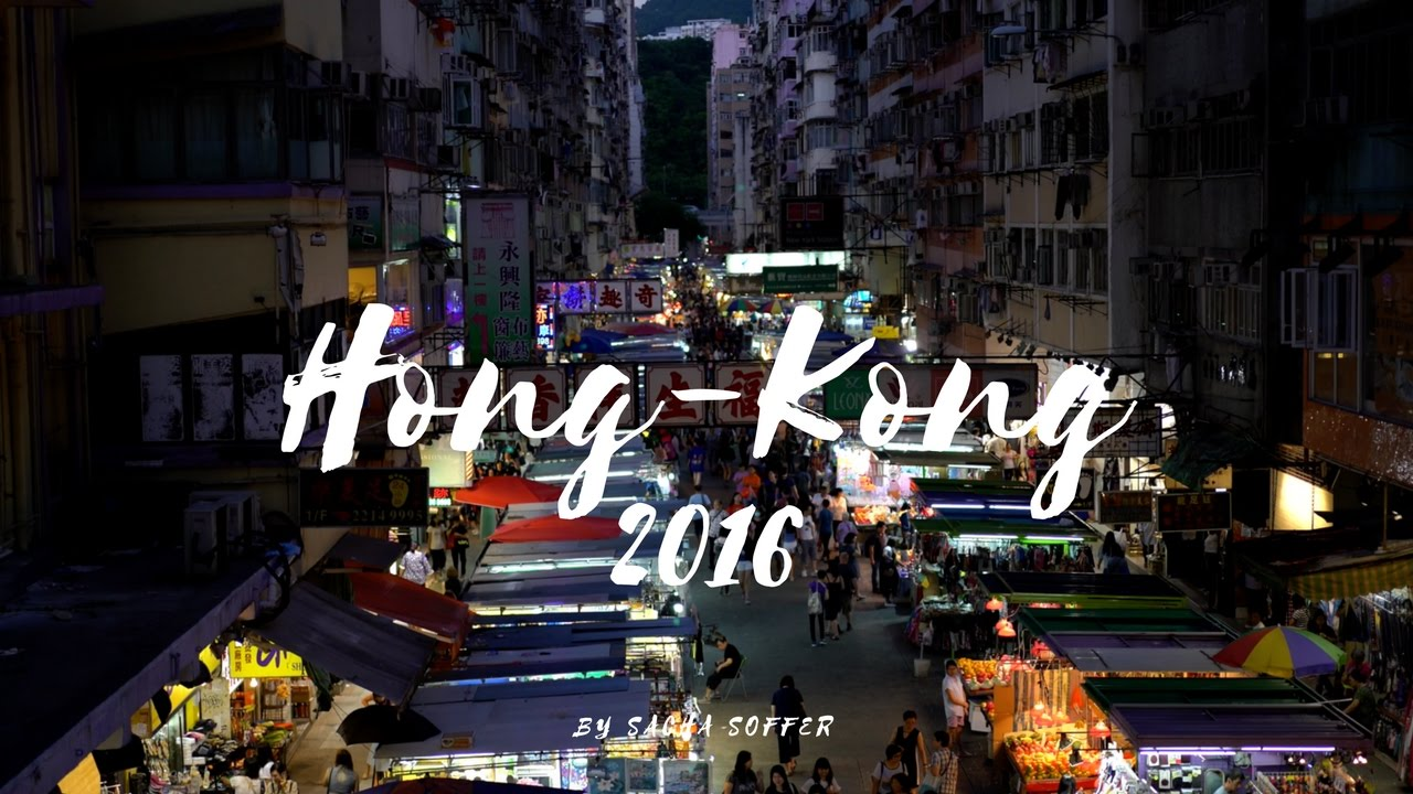 Hong-Kong in 4K - Sony A7sII - Beauty of Night / Low Light Test