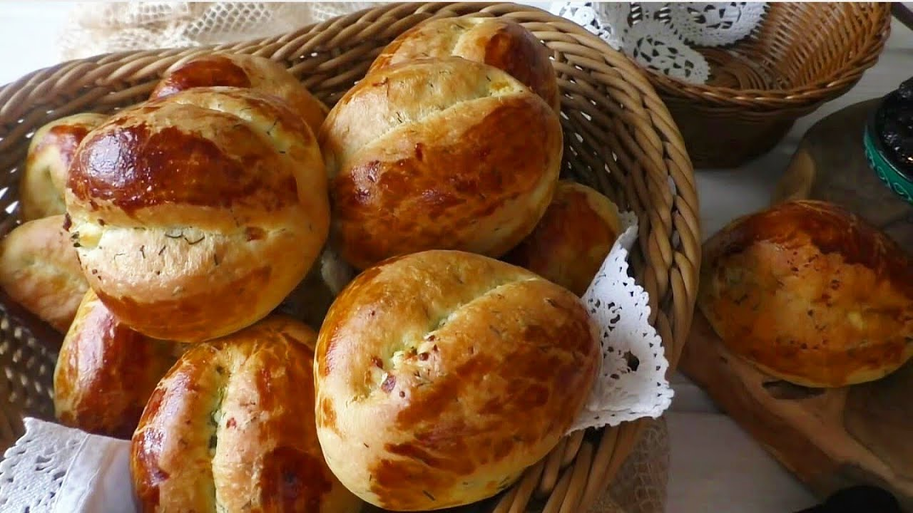 Dereotlu Pastane Poğaçası Tarifi Videosu