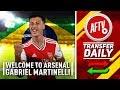 Welcome To Arsenal Gabriel Martinelli! 🇧🇷