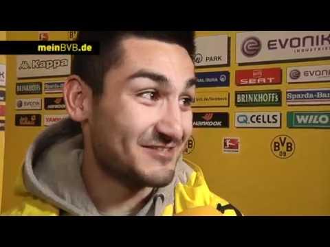 BVB - Bayern München: Interview mit Ilkay Gündogan