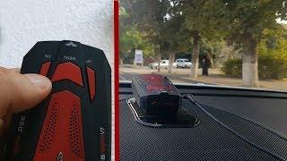 видео Car radar detector V7 (360 Laser) – обзор