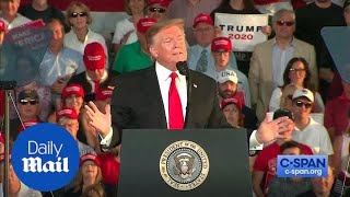 Trump asks supporters to vote on new 2020 campaign slogan