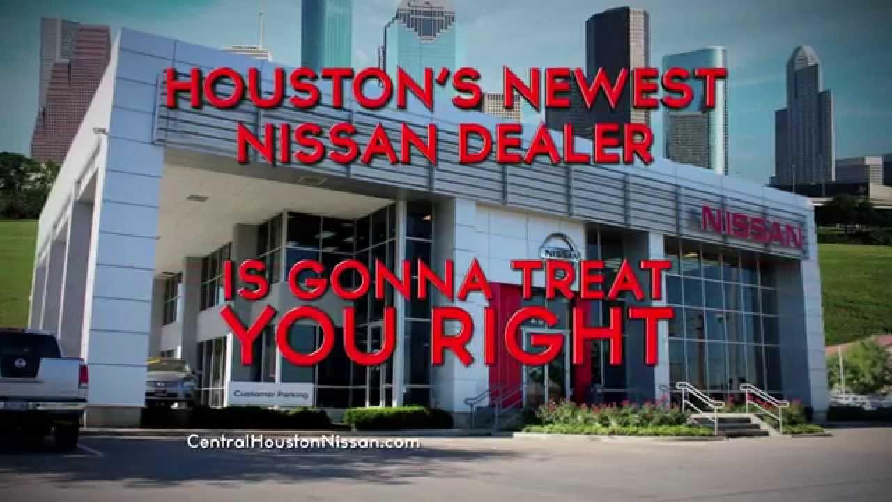 Nissan Dealership Houston >> Central Houston Nissan Youtube