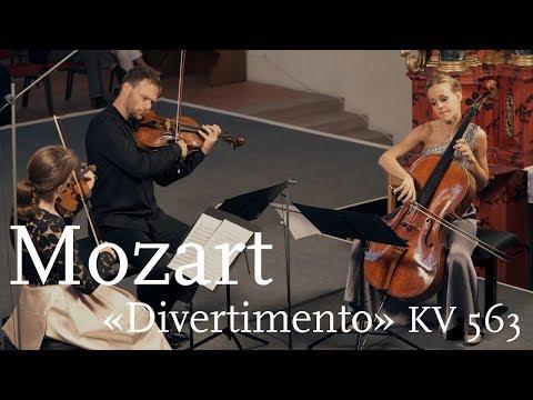 W.A. Mozart: «Divertimento» KV 563 / Veronika Eberle / Amihai Grosz / Sol Gabetta