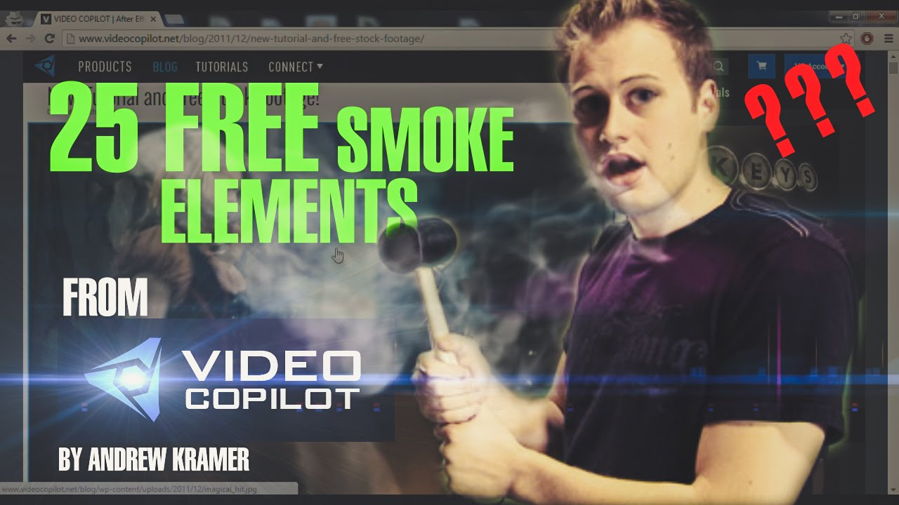 After effects tutorial: smoke text effects youtube.