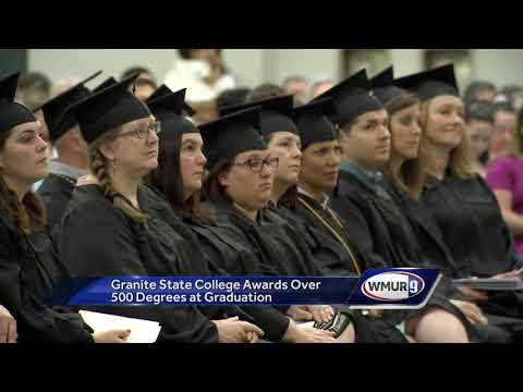 Granite State College awards over 500 degrees at graduation
