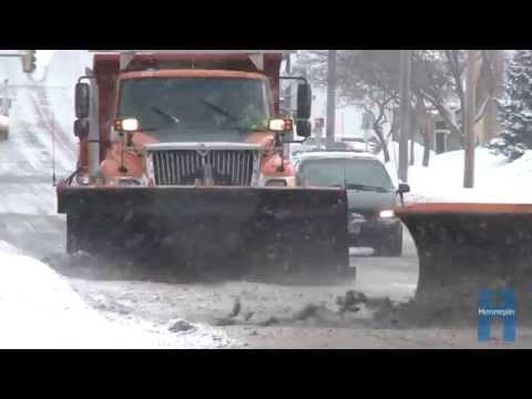 Hennepin County snow plows